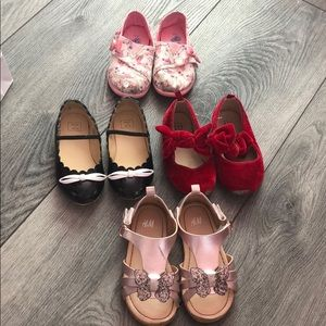 Janie and Jack Shoes - Toddler Shoes Size 7 4 pairs used